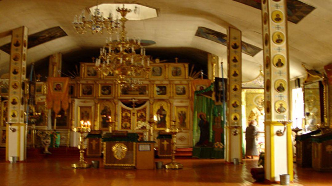 Дорога к храму. К мощам Св. Феодосия