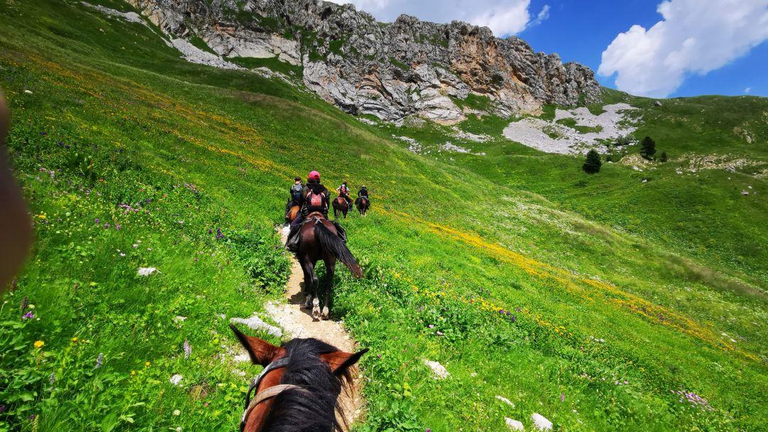 Конные прогулки, маршрут: Чернореченский каньон в Северной стороне Севастополя