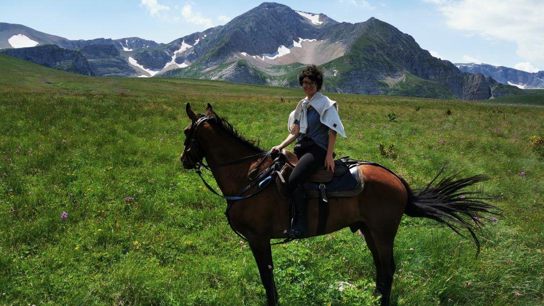 Конные прогулки, маршрут: Пещерный монастырь Челтер - Мармара в Севастополе