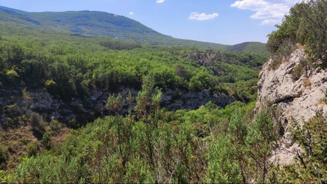 Конные прогулки, маршрут: Чернореченский каньон - фото 2