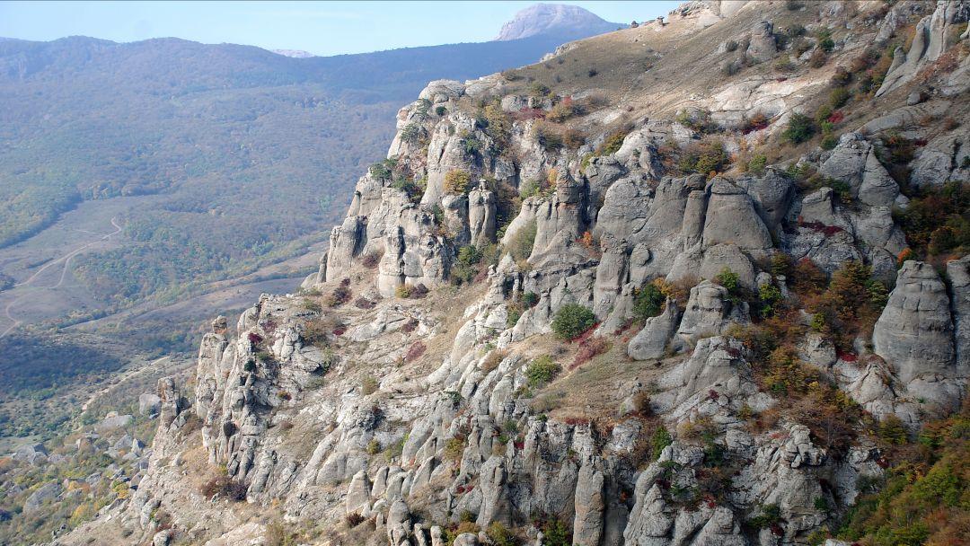 Полет на параплане на горе Тас-Тао (п. Заречное, Симферопольский район) в Алуште