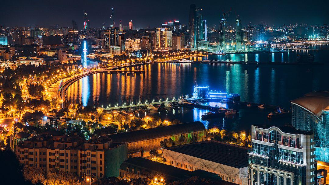 Экскурсия по вечернему Баку в Баку