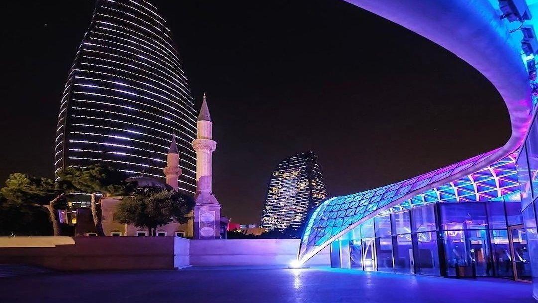 Экскурсия по вечернему Баку - фото 6