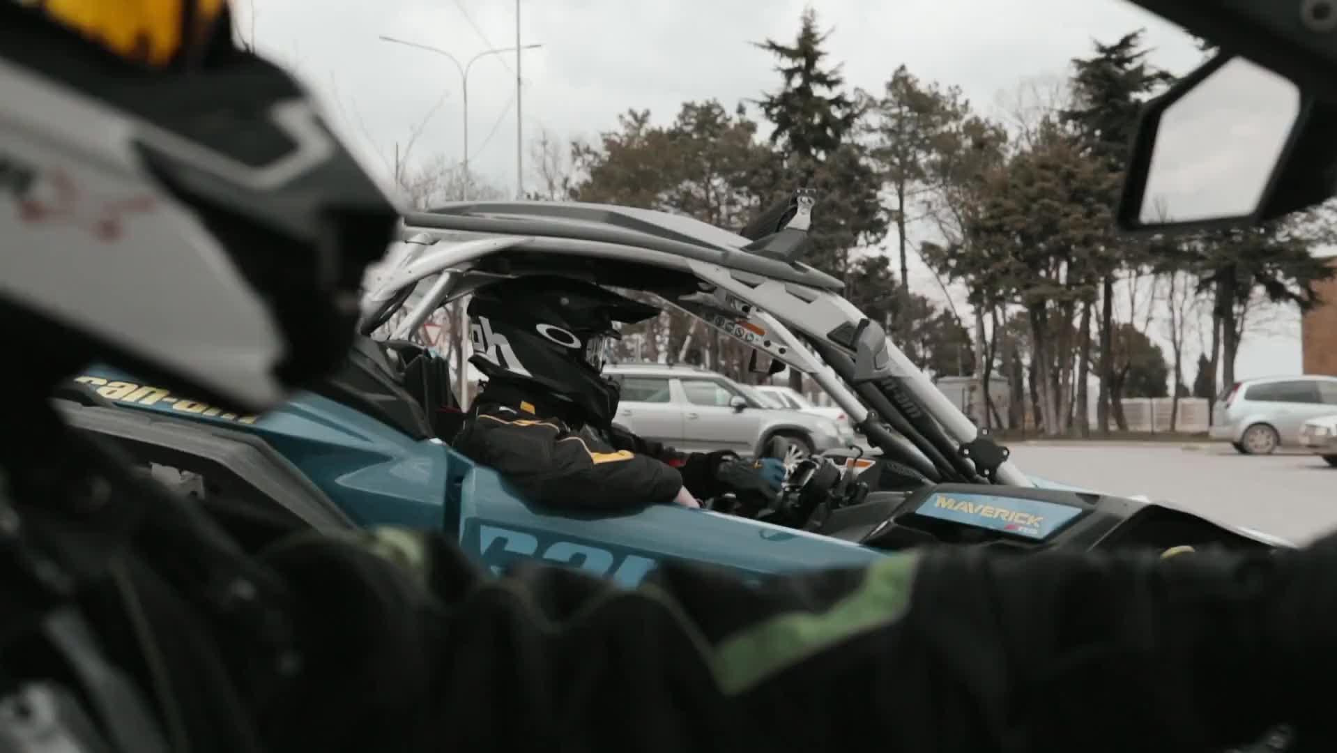 Эксклюзивное путешествие  по горному Крыму за рулем багги BRP CAN-AM MAVERICK X3 RR 2020-21 - видео 2