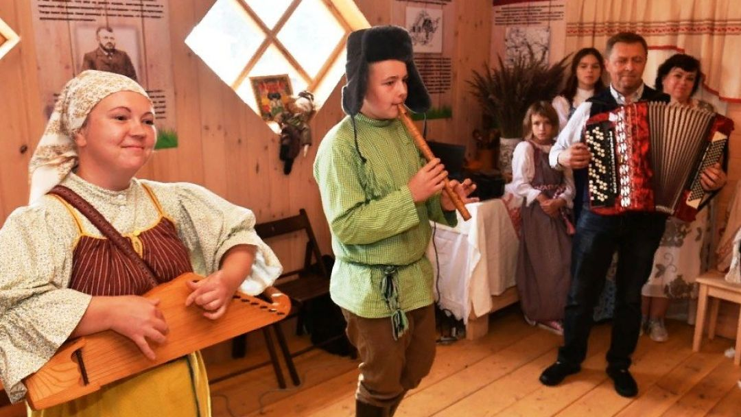 Этно-программа в деревне Киндасово