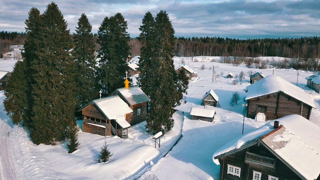 Карельская деревня Кинерма - фото 3
