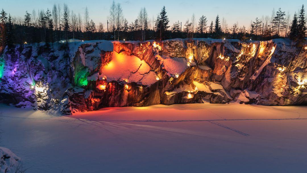 Горный парк «Рускеала» - Рускеальские водопады - фото 5
